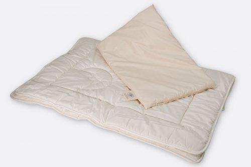 Schafwollueberbett für Kinder