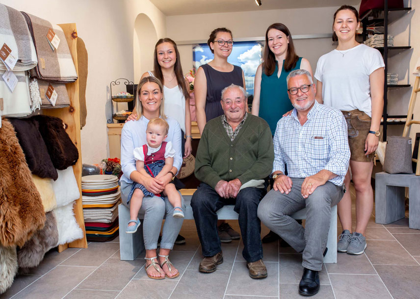 Familie Schett Villgrater Natur